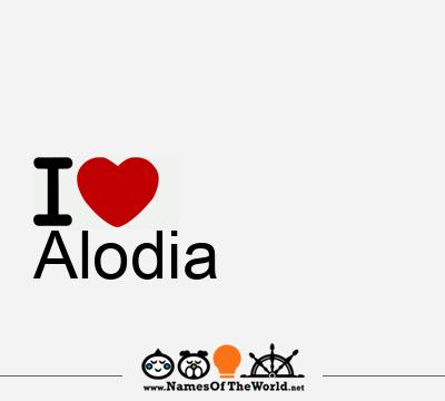 Alodia