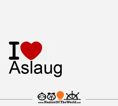 Aslaug