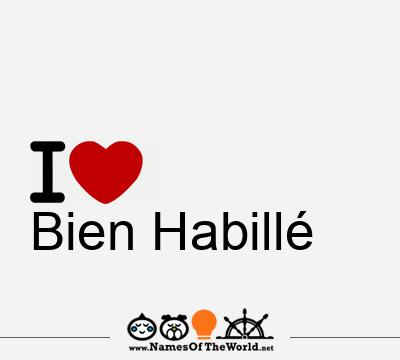 Bien Habillé