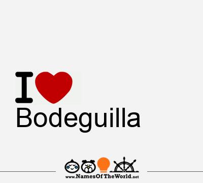 Bodeguilla