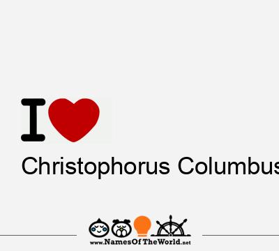 Christophorus Columbus
