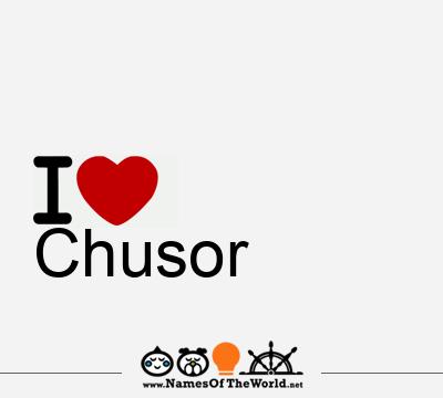 Chusor