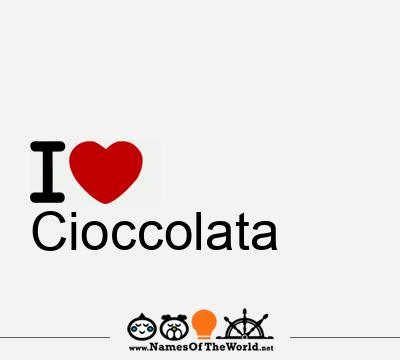Cioccolata