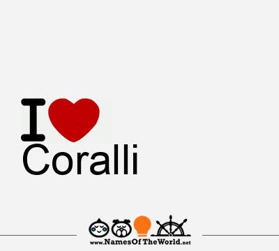 Coralli Coralli Name Meaning Of Coralli