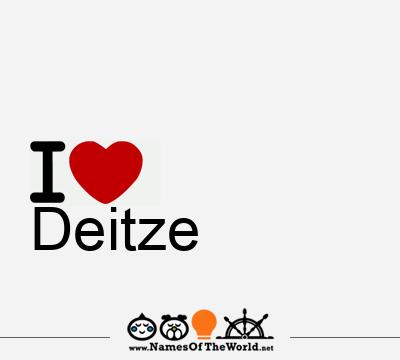 Deitze