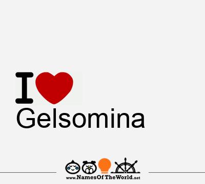 Gelsomina