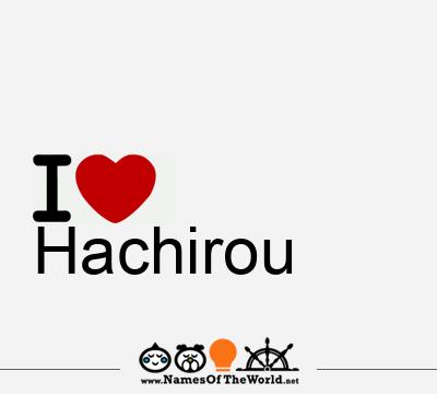 Hachirou