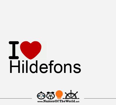 Hildefons