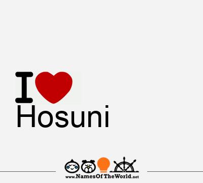Hosuni