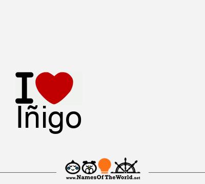 Iñigo