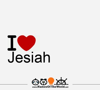 Jesiah
