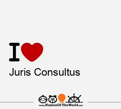 Juris Consultus