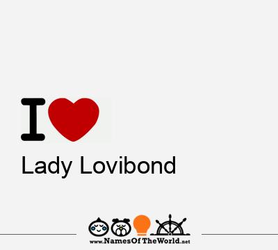 Lady Lovibond