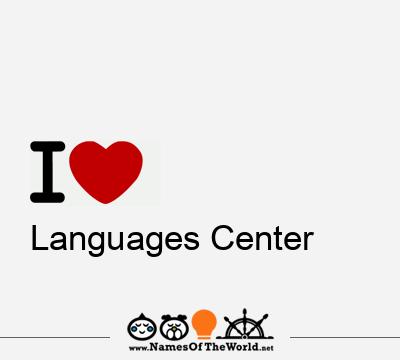 Languages Center