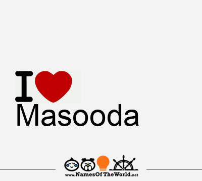 Masooda
