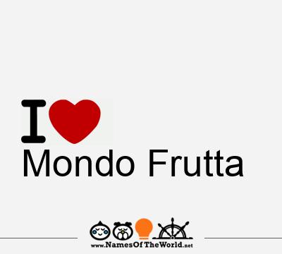 Mondo Frutta