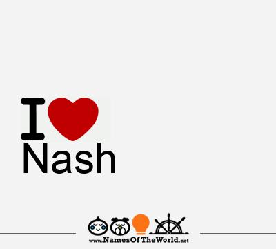 Nash   Nash name   meaning of Nash