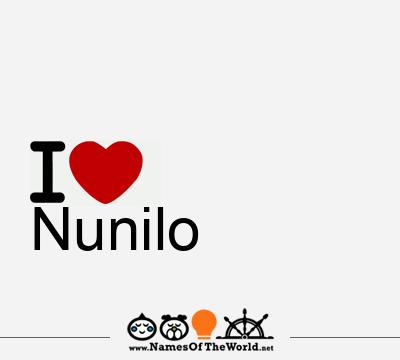 Nunilo