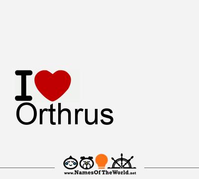 Orthrus