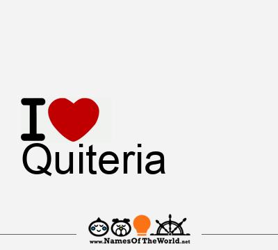 Quiteria