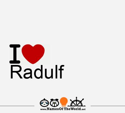 Radulf