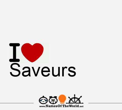 Saveurs