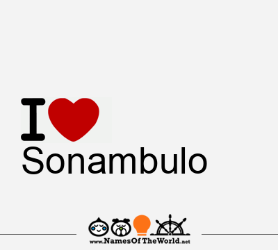 Sonambulo