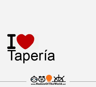 Tapería