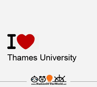 Thames University