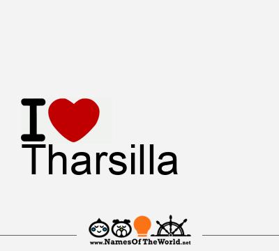 Tharsilla