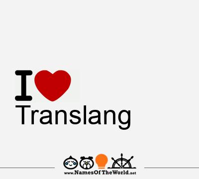 Translang