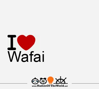 Wafai