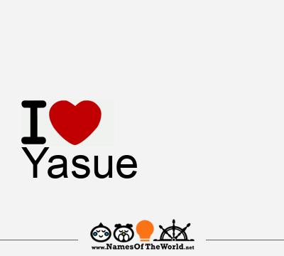 Yasue