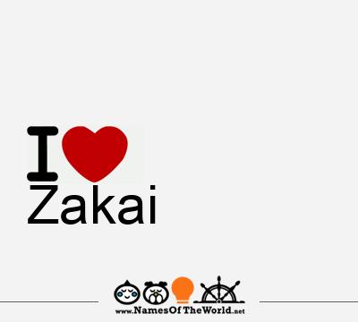 Zakai