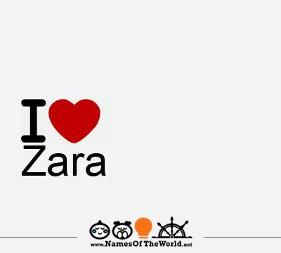 Zara | Zara name | meaning of Zara