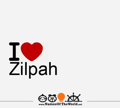 Zilpah
