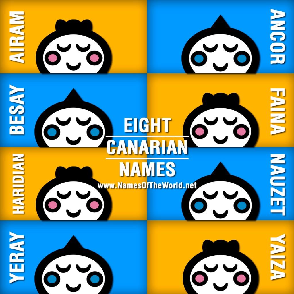 8-CANARIAN-NAMES