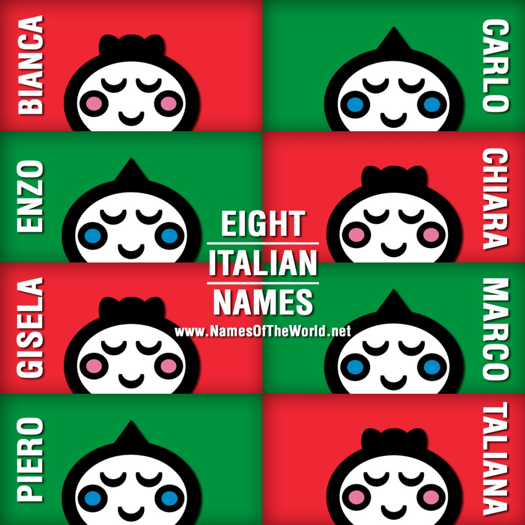 8-ITALIAN-NAMES