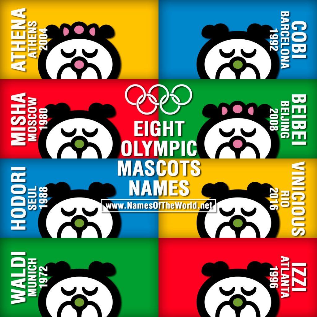 8-OLYMPIC-MASCOTS-NAMES