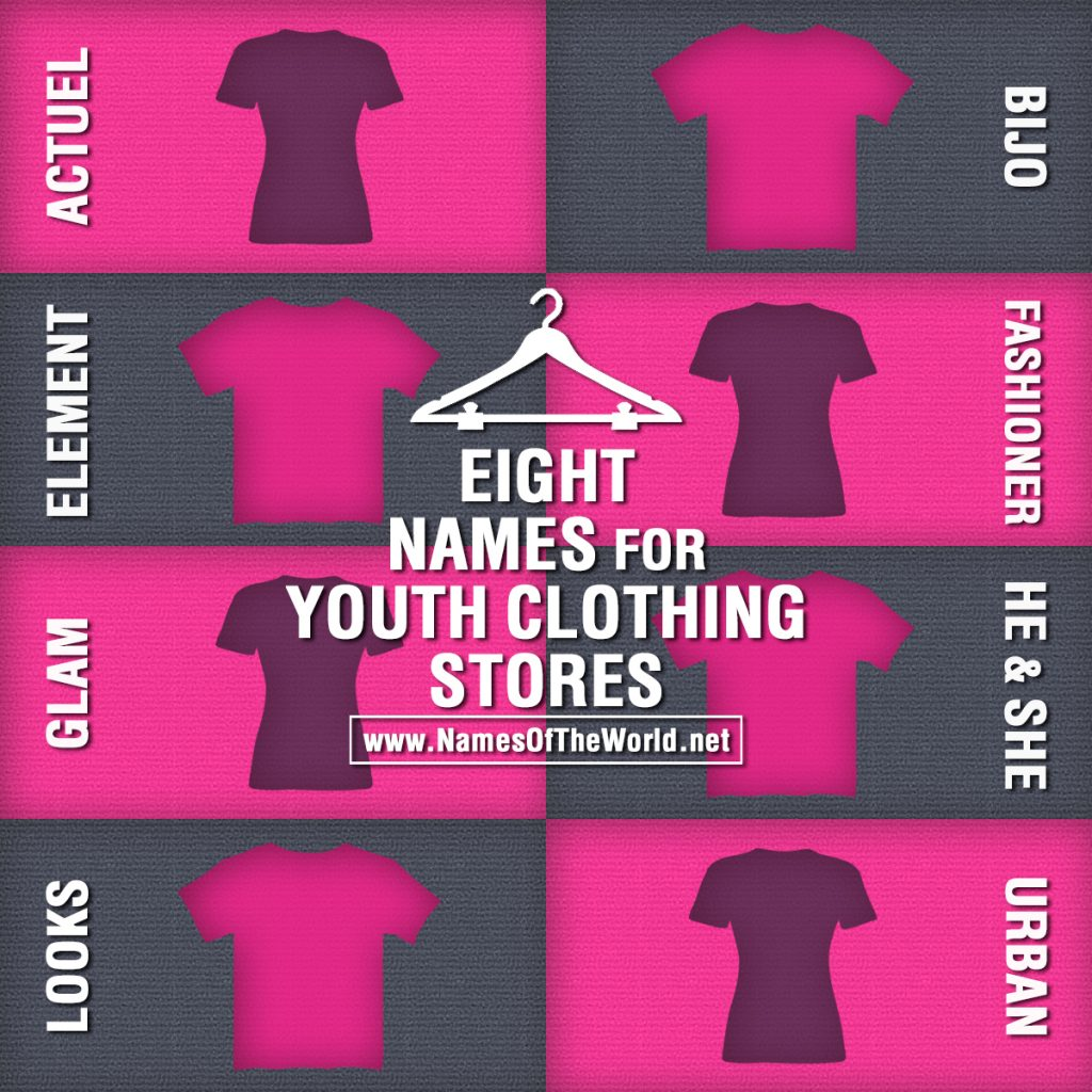 Names for clothing stores